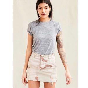 Urban outfitters urban renewal camo skirt